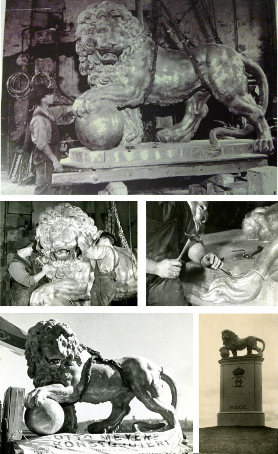 Foton ur Otto Meyers arkiv hos Centrum för Näringslivshistoria.