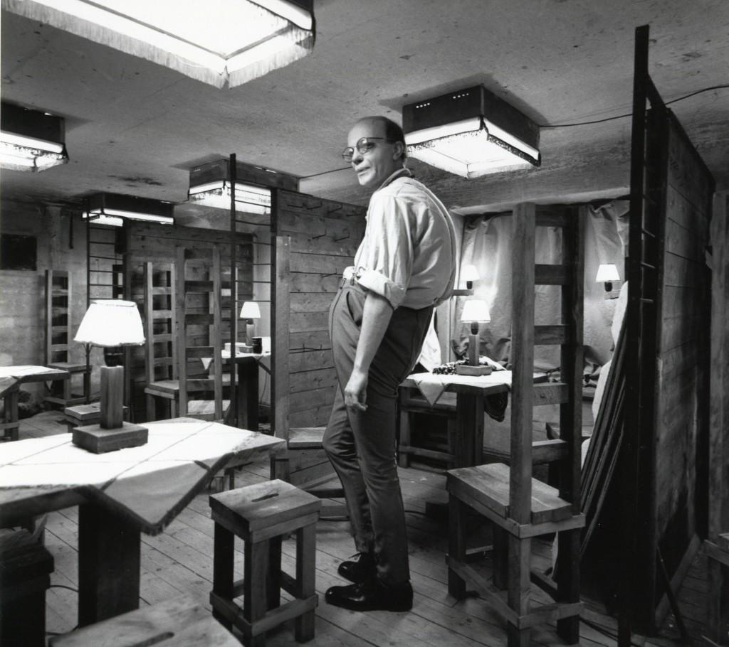 Kakaoinspektören a.k.a. Lille Hans. Rummet var förrådsrum på gjuteritiden (träväggarna har fortfarande sina krokar kvar där mindre gjutgods hängde). Foto Carl Johan De Geer.