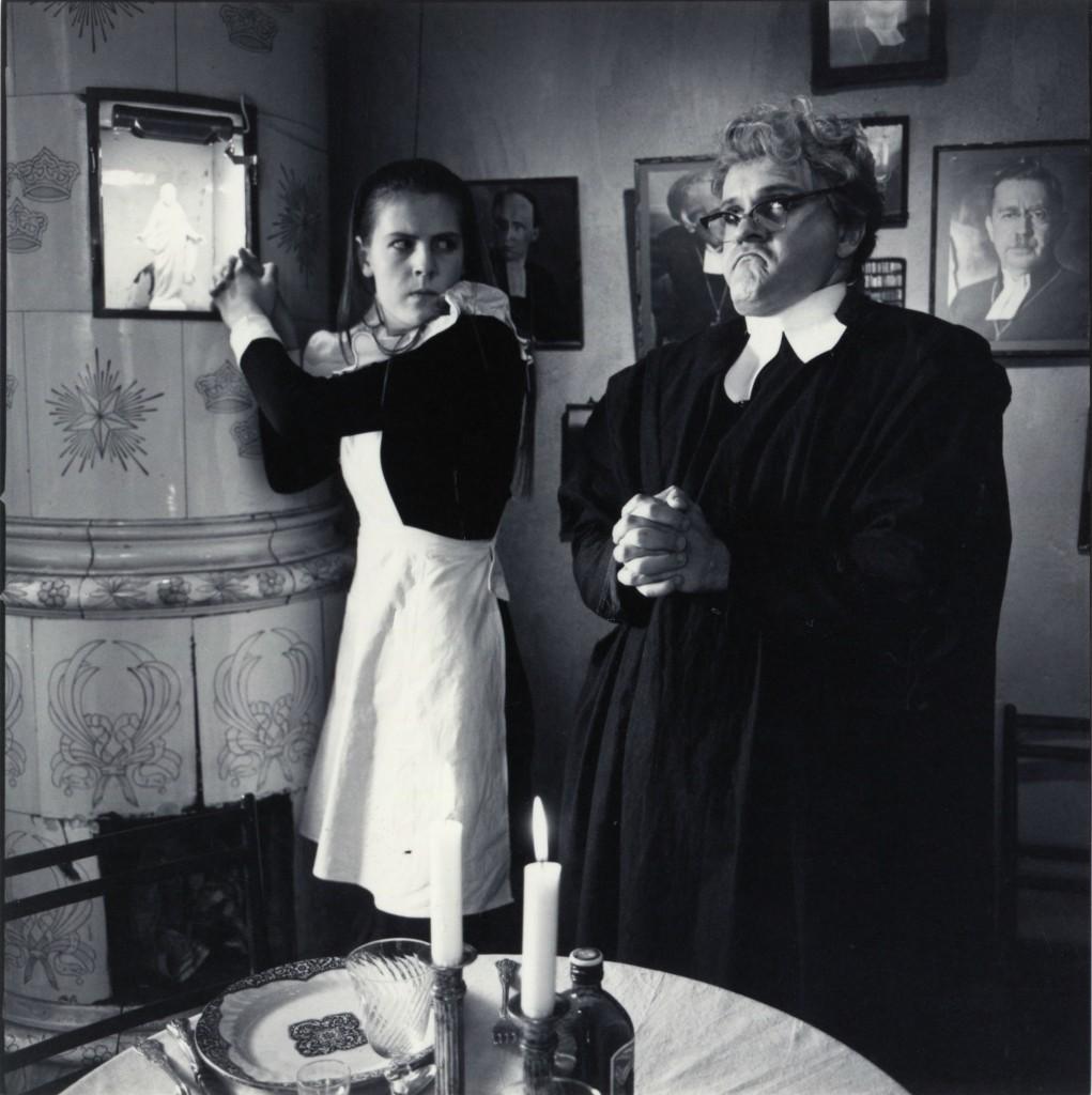 I prästhemmet från Privatdetektiven Kant. Foto Carl Johan De Geer.