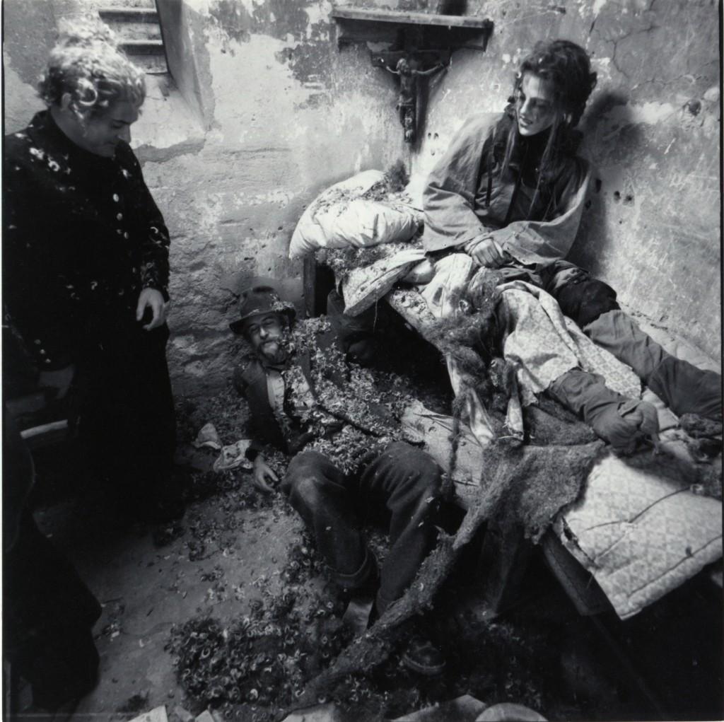 I fängelsehålan. Foto Carl Johan De Geer.